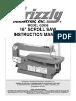 MQ50 Scroll Saw Manual
