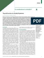 Tiroides en Critico 2015 Lancet