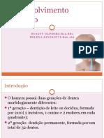 Desenvolvimento dentário (Pediatria)