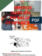 Primeros Auxilios en Salud Ocupacional
