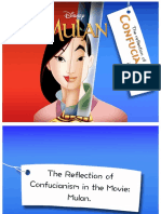 The Reflection of Confucianism in the Movie