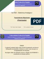 Analogica I (8) BJT Polarizacao 2013