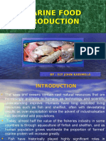 Marine Food Production