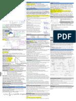 Biomaterials Quick Study Sheet