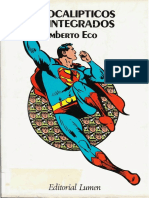 114679545 Eco Umberto Apocalipticos e Integrados