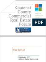 Fred Schmidt (National Perspective) - 2010 Kootenai County Market Forum