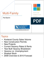 Multifamily (Pat Eberlin) - 2010 Kootenai County Market Forum