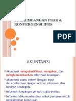Perkembangan Psak & Konvergensi Ifrs