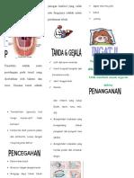 Leaflet Tonsilitis