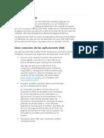 Aplicaciones Web