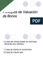 Principios de Valuacion de Bonos