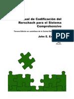 Manual de codificación del Rorschach el Sistema Comprehensivo - John Exner Jr