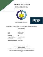 Laporan Praktikum Oksidasi Iodida