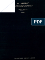 Ediciones Cristiandad - Ateismo Contemporaneo Ia - El Ateismo en la vida y en la Cultura Contemporanea - Tomo 1.pdf