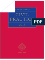 Blackstones Civil Practice