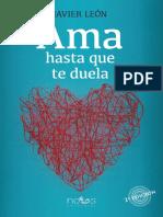 Ama Hasta Que Te Duela - Javier Leon