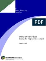Energy Efficient Housing