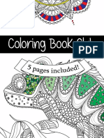 The Coloring Book Club - Free Coloring Book Sample
