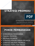 Strategi Promosi Nadya