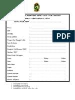 Sampul, Pengantar Dan Daftar Isi