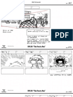 """The Frosty Bus"" Storyboard"