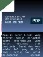 suratdanmemo-130503224108-phpapp01