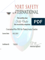 eport concussion certification