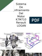 Sistema de Enfriamiento Del Motor K7M710 Renault LOGAN