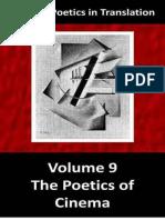 Russian Poetics in Translation Vol. 9 the Poetics of Cinema