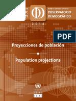 Datos demograficos CEPAL
