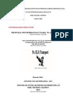 Format Dan Sistimatika Penulisan Proposal Bisnis