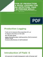 Application of Production Logging & Noise Logging For