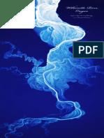 Willamette River LIDAR poster