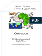 Countries of Africa - Cameroon Student Activity Book & Teacher Lesson Plans