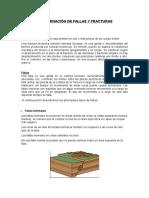 Geología - Fallas y fracturas