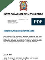 Interpolacion de Movimiento