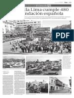 La coronada Lima cumple 480 años de fundación española