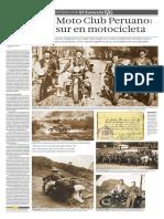 El raid del Moto Club Peruano