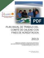 plandetrabajodelcomitedecalidadparafinesdeacreditacionanteelconeaces-140212125058-phpapp01
