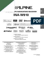 Alpine Ina-w910 En