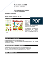 maths project brief jan 2015 project - statistics