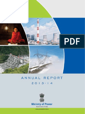 Annual Report 2013-14 English (1) | Electrical Grid | Electricity
