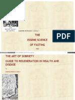 Essene Fasting