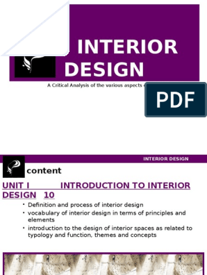 Interior Design Perception Interior Design