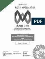 Soal-LJK-Logika-2013(1)