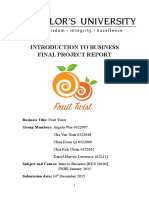 business final report