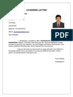 Varadhu New Resume