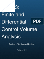 Unit 03 Finite and Differential Control Volume Analysis by The