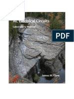 Laboratory Manual for Ac Electrical Circuits