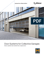Door systems for garage doors